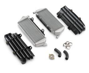 Factory Racing radiator kit