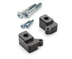 Steering damper bracket