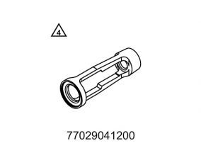 Insert for valve spring lever