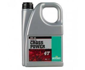 Olej MOTOREX CROSS POWER 4T 5W-40 4L
