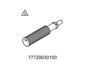Insertion for piston ring lock